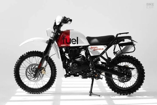 Fuel Motorcycles Presents Scram Africa Edition Royal Enfield Himalayan