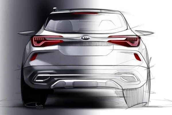 South Korean Maker Kia Releases Sketches of Interior of Upcoming SP2i SUV