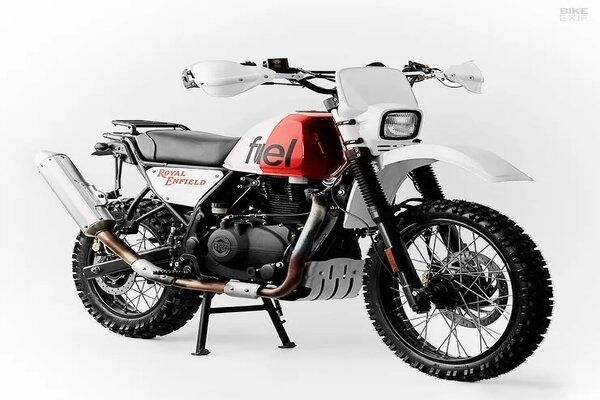 This Modified Royal Enfield Himalayan Comes With Turbocharger