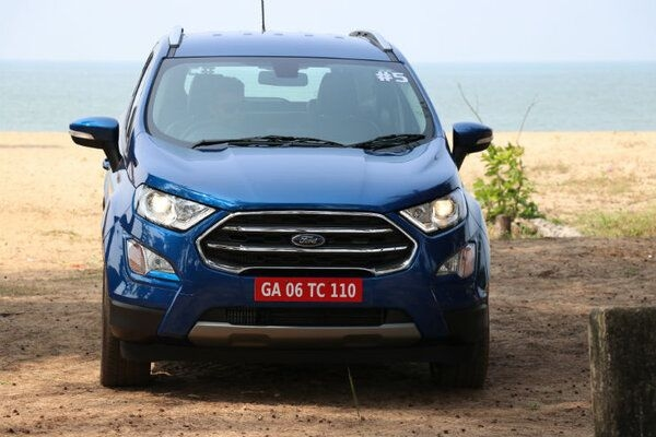 Ford Slashes Price of EcoSport Variants in India After Launch of Thunder Trim
