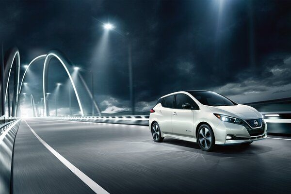 Nissan Testing Leaf EV in India