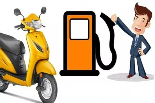Fuel Meter With Scooter