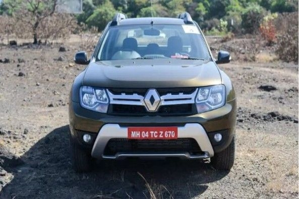 Cooper Color Renault Duster Front Profile