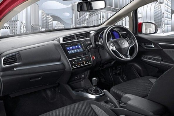 Honda WR-V Front Seats and Steering Wheel