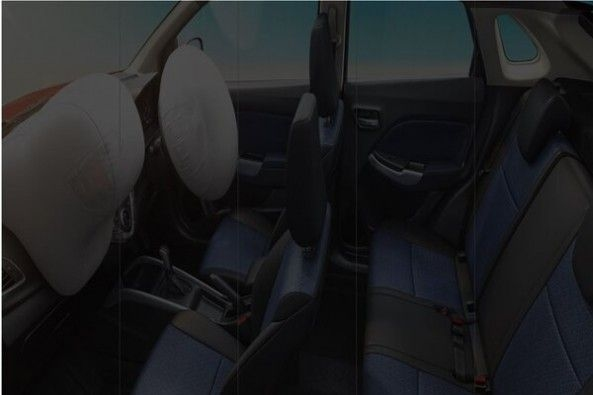 Toyota Glanza Seat Layout With Airbags