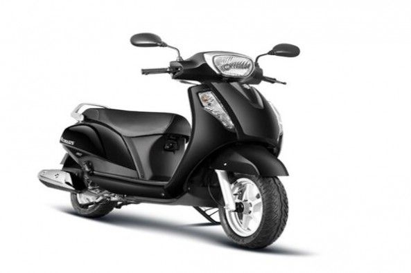 Black Color Suzuki Access Side Profile