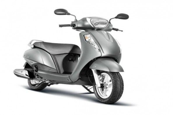 Silver Color Suzuki Access Side Profile