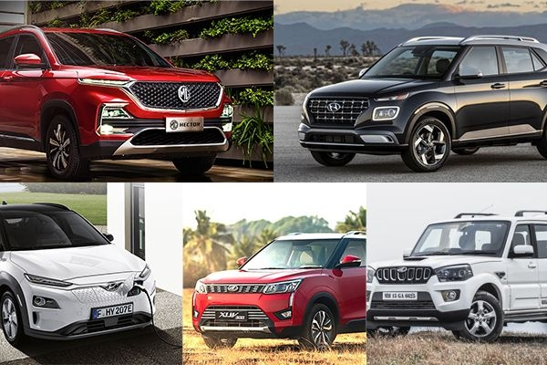Top 5 New Launch SUV Cars in India