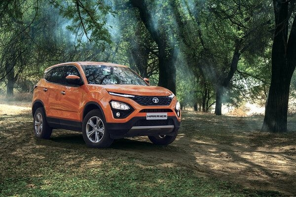 Tata Harrier One-Up