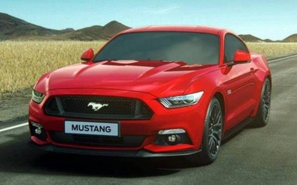 Updated Ford Mustang