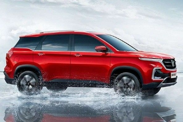 6- Seater MG Hector SUV
