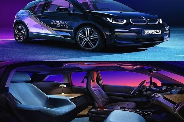The design of BMW i3 Urban Suite to be unveiled at CES 2020