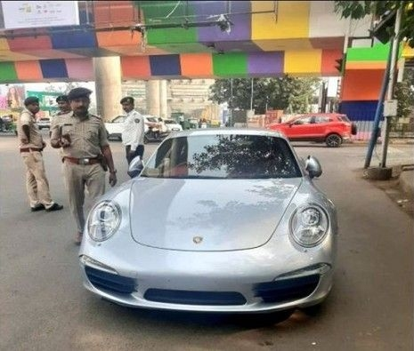 Porsche owner paid Rs 27.68 lakhs