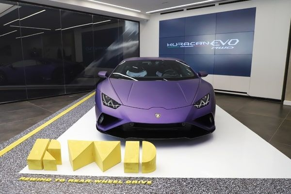 Lamborghini Huracan Evo RWD Priced at Rs 3.22 Cr