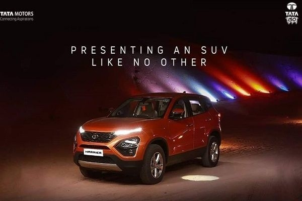 BS6 Tata Harrier Bookings Open, Launching at Auto Expo 2020