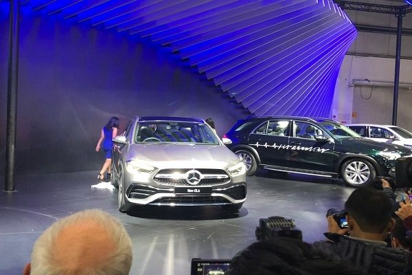 New Mercedes Benz GLA Unveiled at Auto Expo 2020