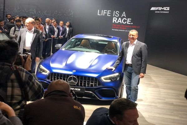 Mercedes-AMG GT 63S Coupe Launched at Rs 2.42 Crores