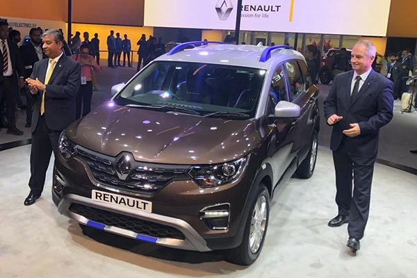 Renault Triber AMT Showcased at Auto Expo 2020