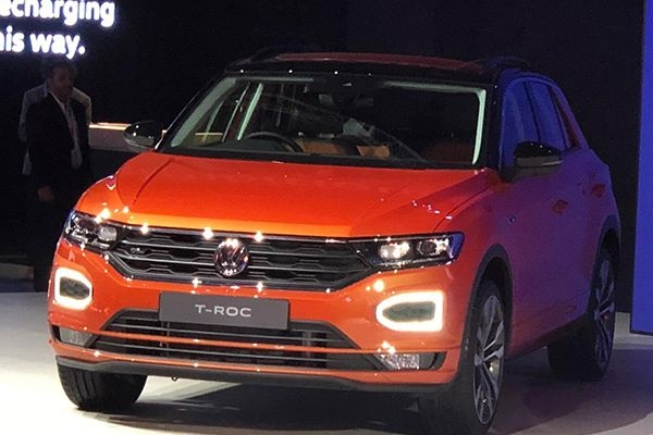 Volkswagen T-Roc SUV Unveiled at 2020 Auto Expo