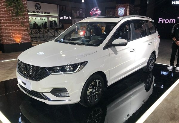 MG Motor India Unveils 360M MPV at 2020 Auto Expo