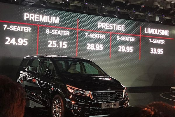 KIA Carnival Launched at Rs 24.95 Lakhs at 2020 Auto Expo