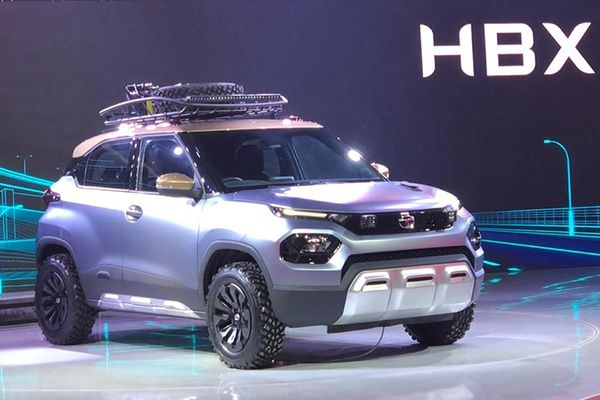 Tata HBX (Hornbill) Makes Global Debut at Auto Expo 2020