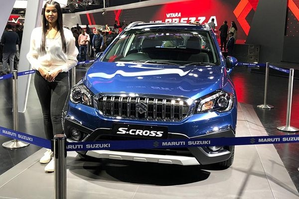 Maruti S-Cross Petrol Hybrid Version Unveiled