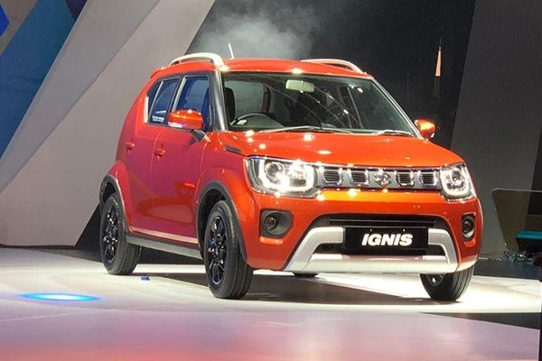 Maruti Ignis BS 6 Facelift Breaks Cover at 2020 Auto Expo