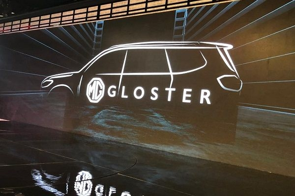 MG Gloster Unveiled in the Auto Expo 2020