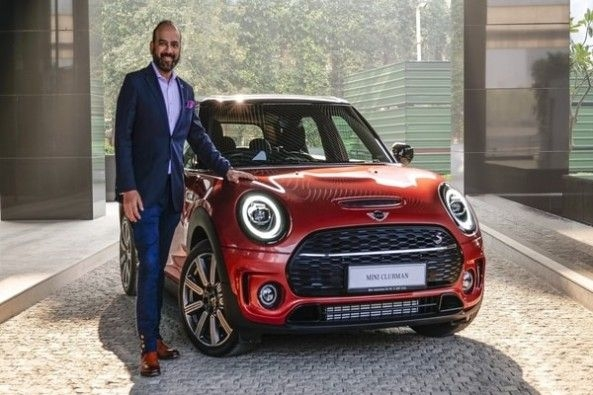 new Mini Clubman Indian Summer Red edition