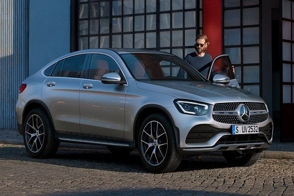 Mercedes Benz GLC Coupe Facelift Launching on 3rd March 2020