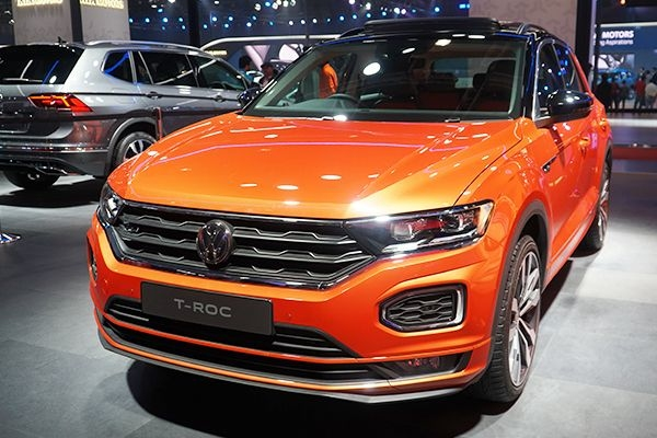 Volkswagen T-Roc Feature List Revealed in India