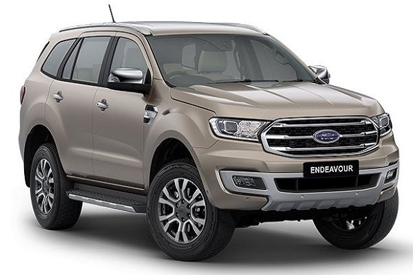BS 6 Ford Endeavour Launched at Rs 29.55 Lakhs