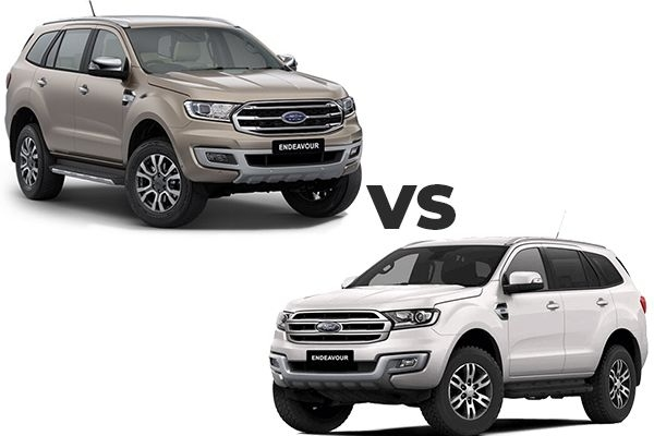 2020 New Ford Endeavour BS6 vs Old BS4- Key Differences