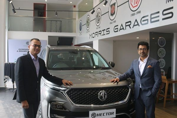MG Motor India Expands its Footprint in Guwahati