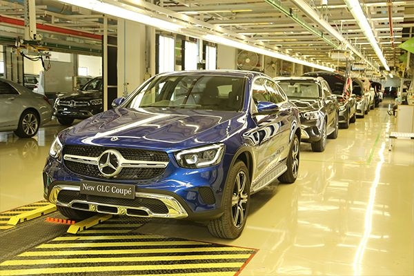 Mercedes-Benz GLC Coupe Launched At Rs 62.70 Lakhs