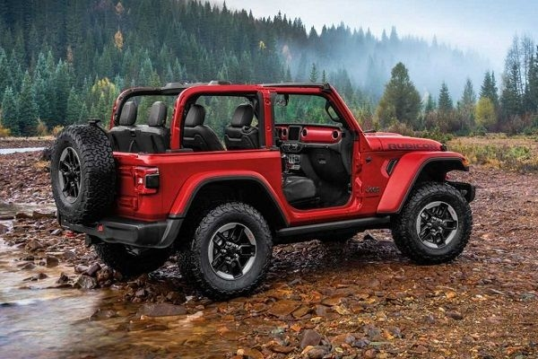 Jeep Wrangler Rubicon Launched at Rs 68.94 Lakhs