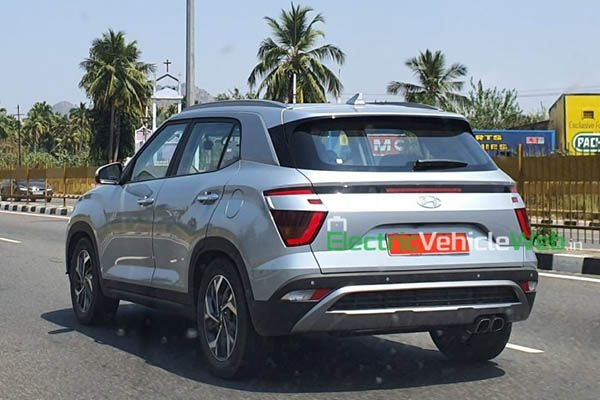 Next Generation Hyundai Creta Spied Without Camouflage For The First Time