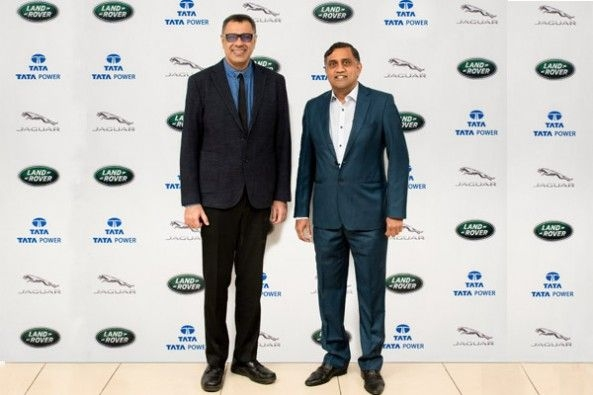 JLR And Tata Power Join Hands