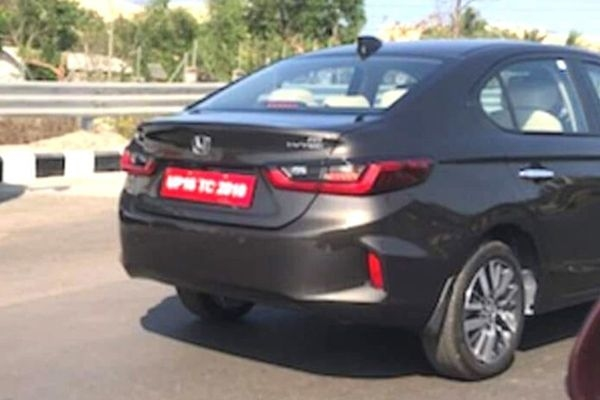 New Honda City 2020 Spied Undisguised in India