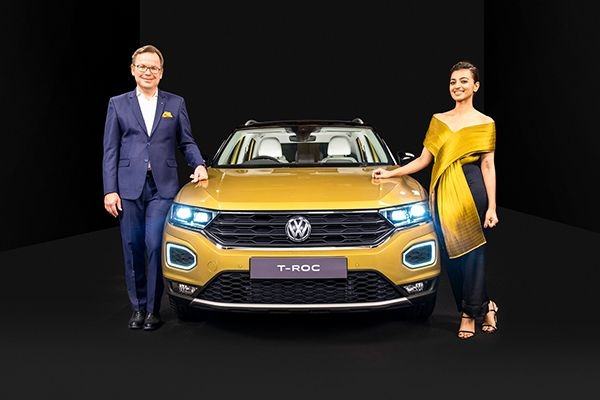 Volkswagen T-Roc Launched at Rs 19.99 Lakhs