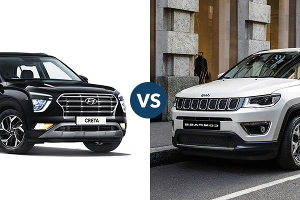 Next-Generation Hyundai Creta vs Jeep Compass: Price, Features, and Specifications