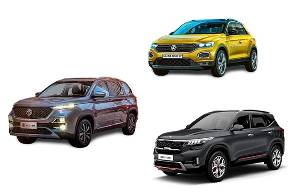 Detailed Comparison: Volkswagen T-Roc vs Kia Seltos vs MG Hector