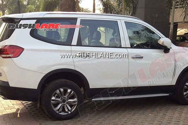 MG Gloster 7-Seater SUV Spied Testing Again in India