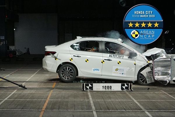 2020 New-gen Honda City Gets 5-Star Safety Rating