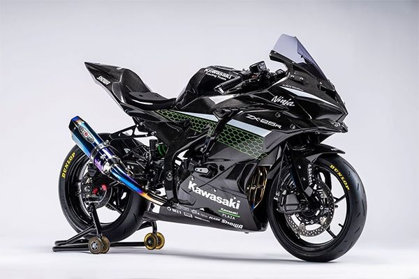 Kawasaki Ninja ZX-25R Custom Racer Revealed