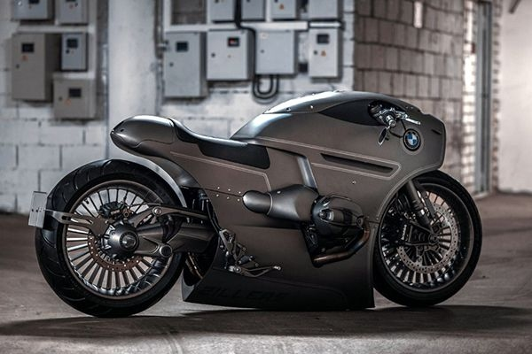 Custom Made BMW R9T For The Apocalypse World