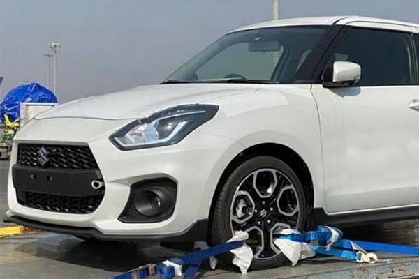 Suzuki Swift Sport Spied For The First Time in India