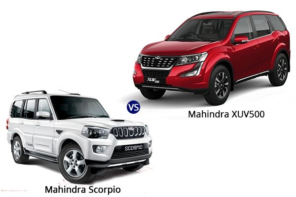 BS6 Mahindra XUV500 vs BS6 Mahindra Scorpio 2020: Price, Variants, Specifications, Features