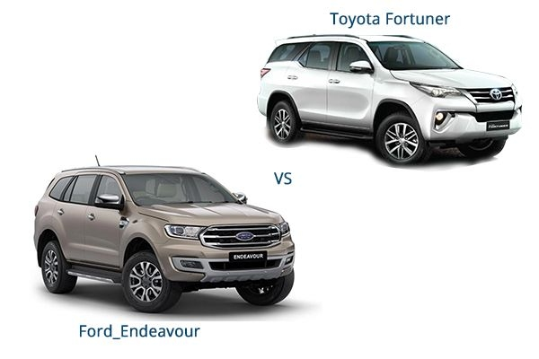 BS6 Toyota Fortuner vs Ford Endeavour 2020 - Detailed Comparison